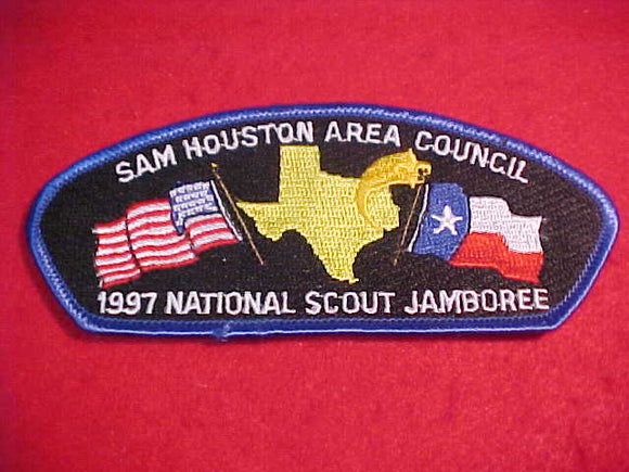 1997 JSP, SAM HOUSTON AREA C., BLUE BDR.