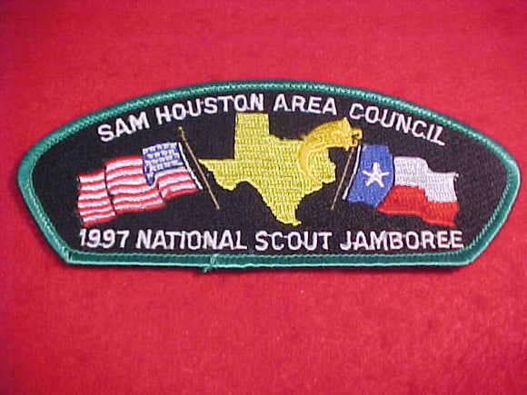 1997 JSP, SAM HOUSTON AREA C., GREEN BDR.