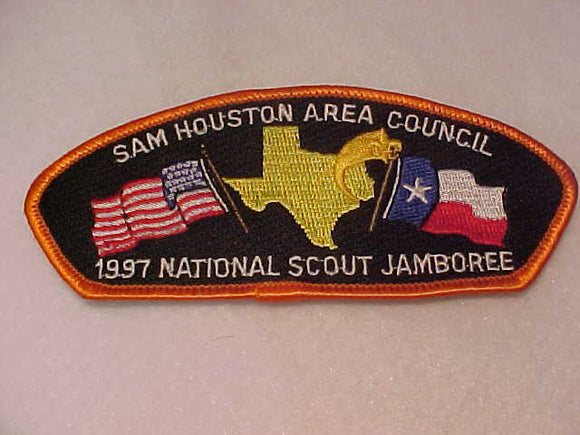 1997 JSP, SAM HOUSTON AREA C., ORANGE BDR.