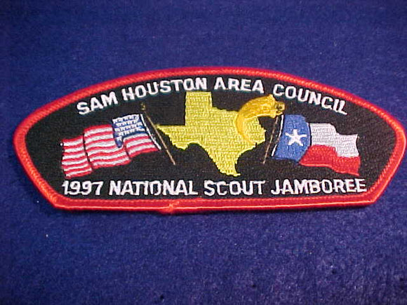 1997 JSP, SAM HOUSTON AREA C., RED BDR.