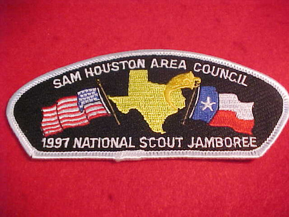 1997 JSP, SAM HOUSTON AREA C., WHITE BDR.