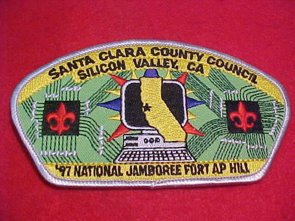 1997 JSP, SANTA CLARA COUNTY C., SILICON VALLEY, CA, LT. GREY BDR.