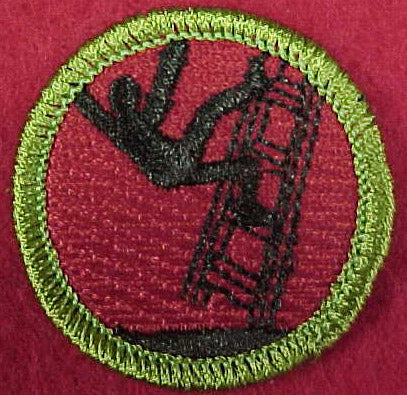 Ladder Diving Spoof Merit Badge