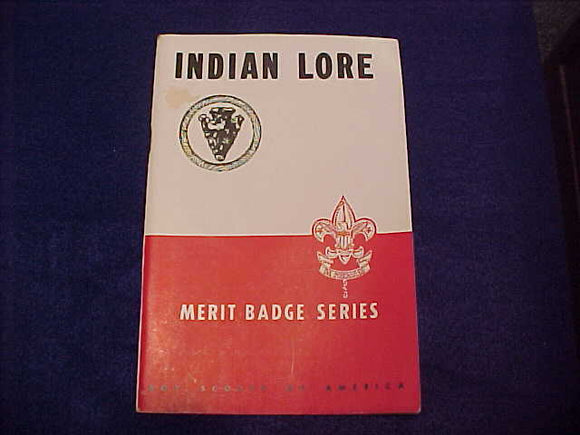 Indian Lore, Red/White, copyright 1942, 2/1945 printing