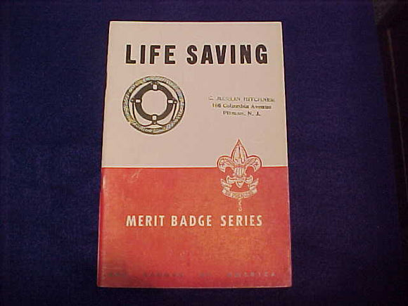 Life Saving, Type 5B, copyright 1944, May 1949 printing, very good cond.