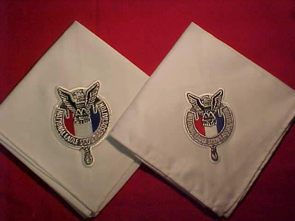BSA N/C'S (2 DIFFERENT), NATIONAL EAGLE SCOUT ASSOC., 3.5