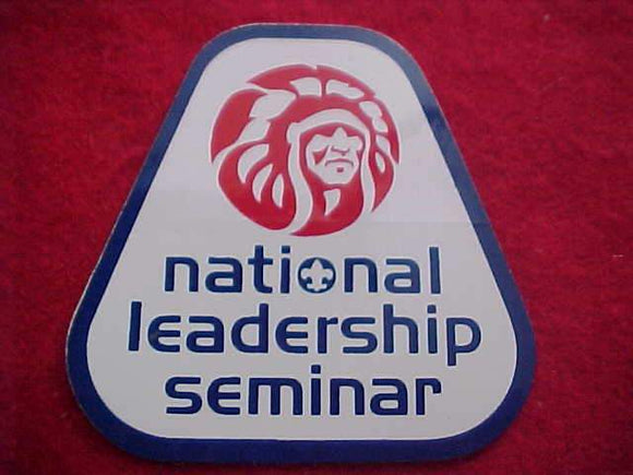 OA STICKER, 1980'S, NATIONAL LEADERSHIP SEMINAR