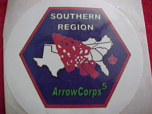 OA STICKER, 2008 ARROWCORPS 5, SOUTHERN REGION