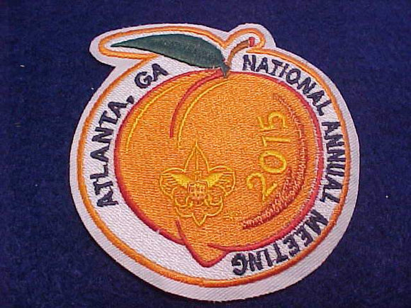 2015 BSA NATIONAL ANNUAL MEETING PATCH, ATLANTA, GA