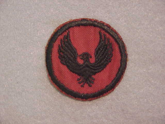 FLYING EAGLE, NO EYE, FELT, NO B.S.A., 1927-33, USED