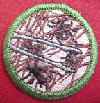 tick picking spoof merit badge
