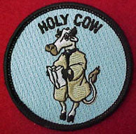 holy cow patrol patch