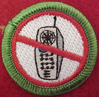 no cell phone spoof merit badge