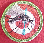 mosquito hunting spoof merit badge