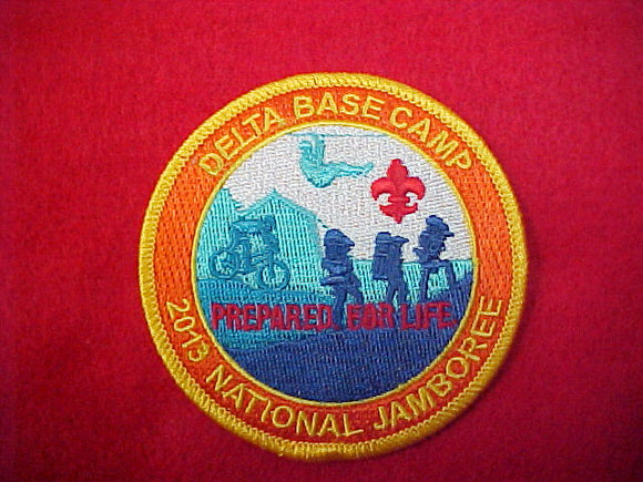 2013 Delta Base Camp Staff Patch