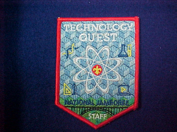 2013 Technology Quest Staff Patch