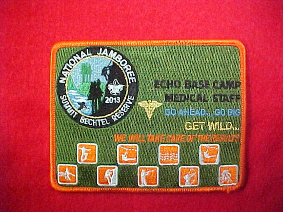2013 Echo Base Camp Medical Staff Patch