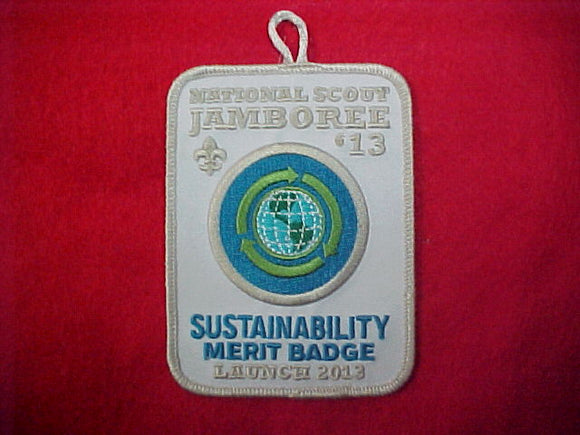 2013 Sustainability Merit Badge Launch Patch