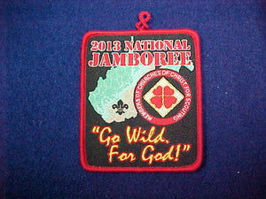 2013 Church of Christ For Scouting Patch