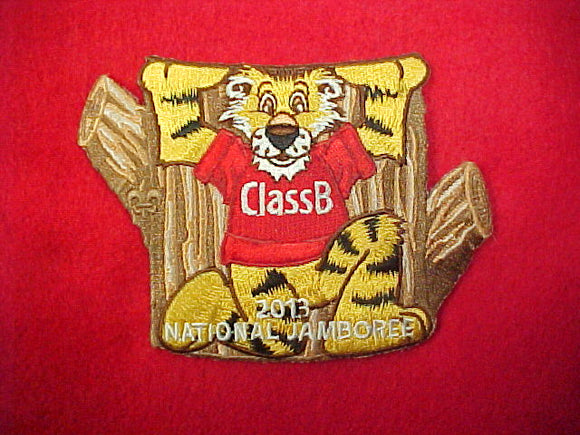 2013 Totem Pole Patch Class B Tiger