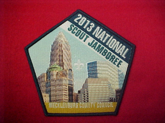 2013 NJ County Council Jacket Patch