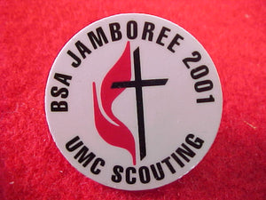 2001 pin, united methodist church