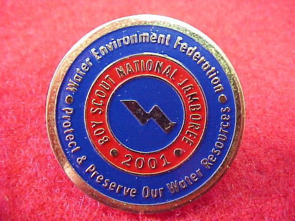 2001 pin, water environment federation