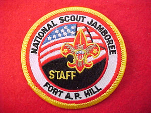 2001 pocket patch, staff, official?