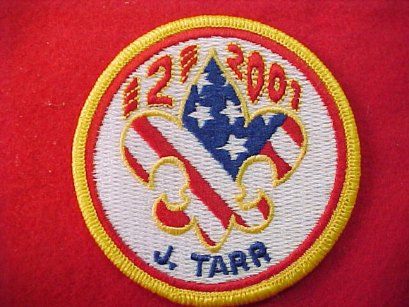 2001 patch, subcamp 1