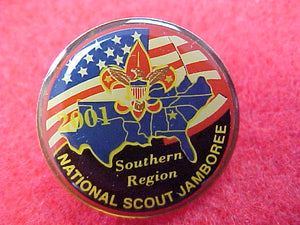 2001 pin, southern region