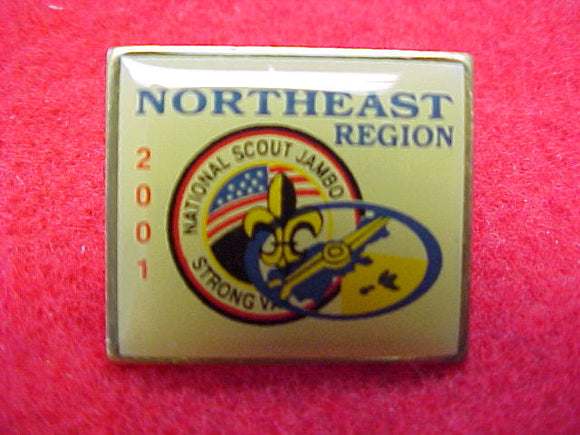 2001 pin, northeast region