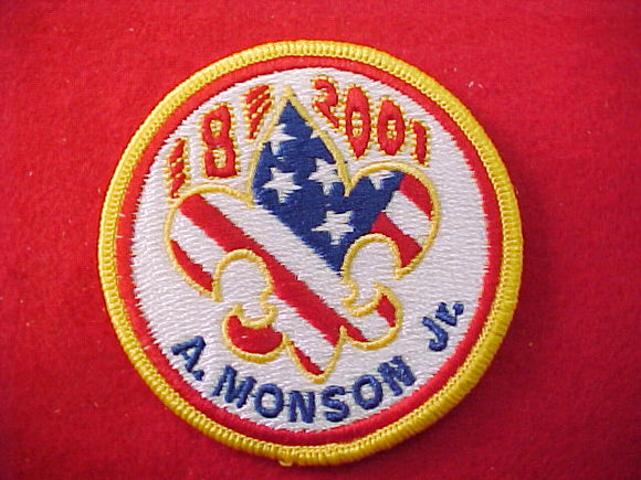 2001 patch, subcamp 8