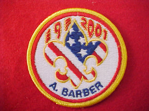 2001 patch, subcamp 9