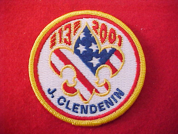 2001 patch, subcamp 13