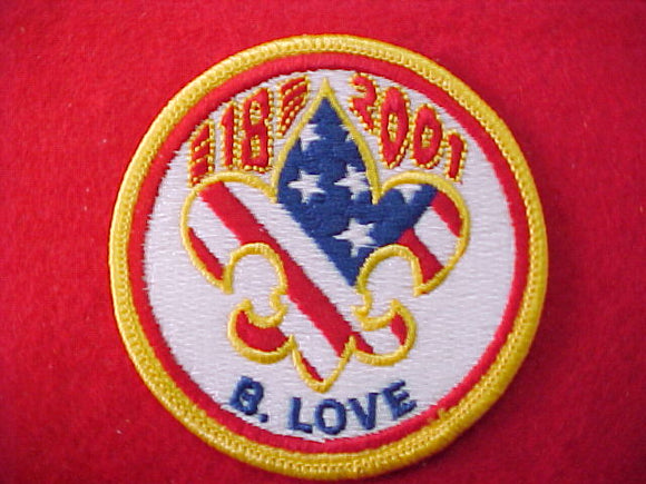 2001 patch, subcamp 18
