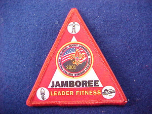 2001 patch, leader fitness, rare