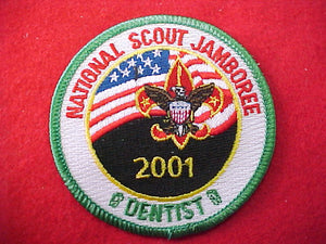2001 pocket patch, dentist