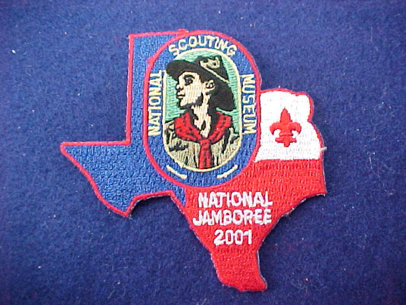 2001 patch, national scouting museum