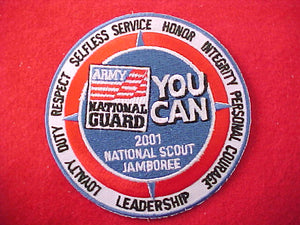 2001 patch, army national guard