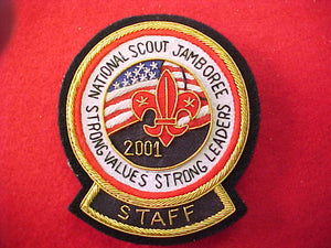 2001 patch, staff, bullion