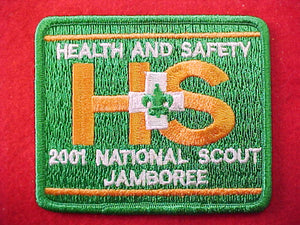 2001 patch, health and safety, staff