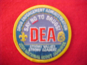 2001 patch, dea/drug enforcement administration, staff