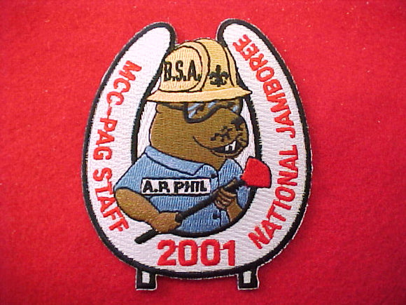 2001 patch, mcc-pag, staff