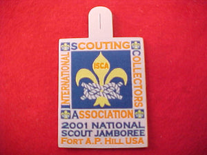 2001 patch, international scouting collectors association