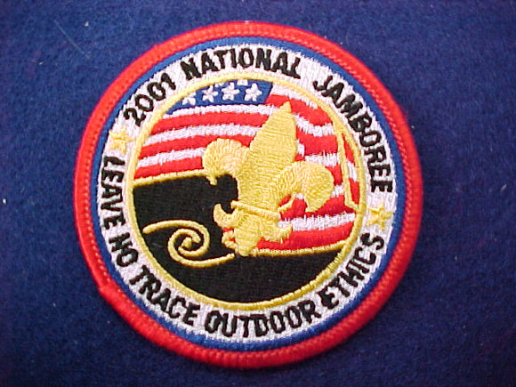 2001 patch, leave no trace outdoor ethics, staff