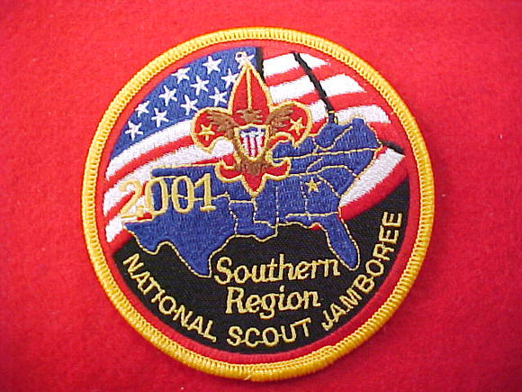 2001 patch, southern region