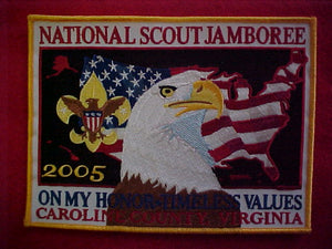 2005 NJ jacket patch, official