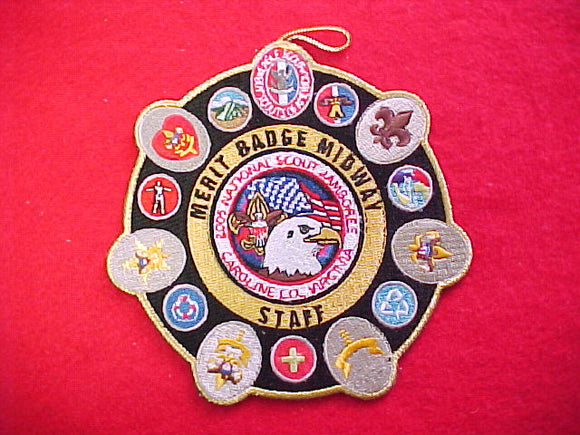 2005 NJ patch, merit badge midway staff