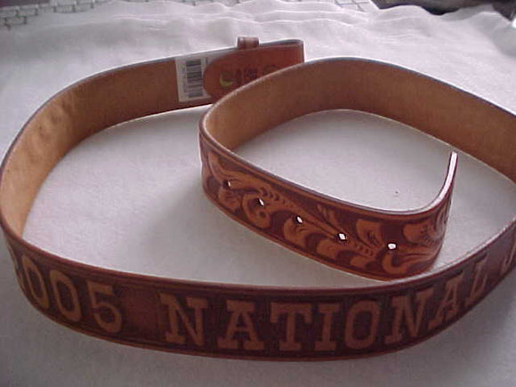 2005 NJ BELT, SIZE 38, LEATHER, MINT