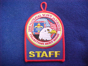 2005 NJ patch, collections merit badge staff